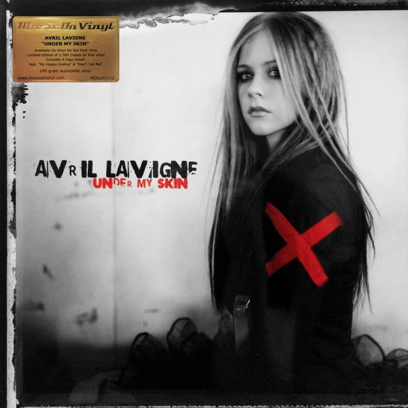 LP Avril Lavigne - Under My Skin VINYL IMPORTADO 180 GRAMAS LACRADO