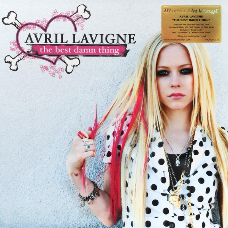 LP Avril Lavigne - The Best Damn Thing VINYL IMPORTADO LACRADO 180 GRAMAS