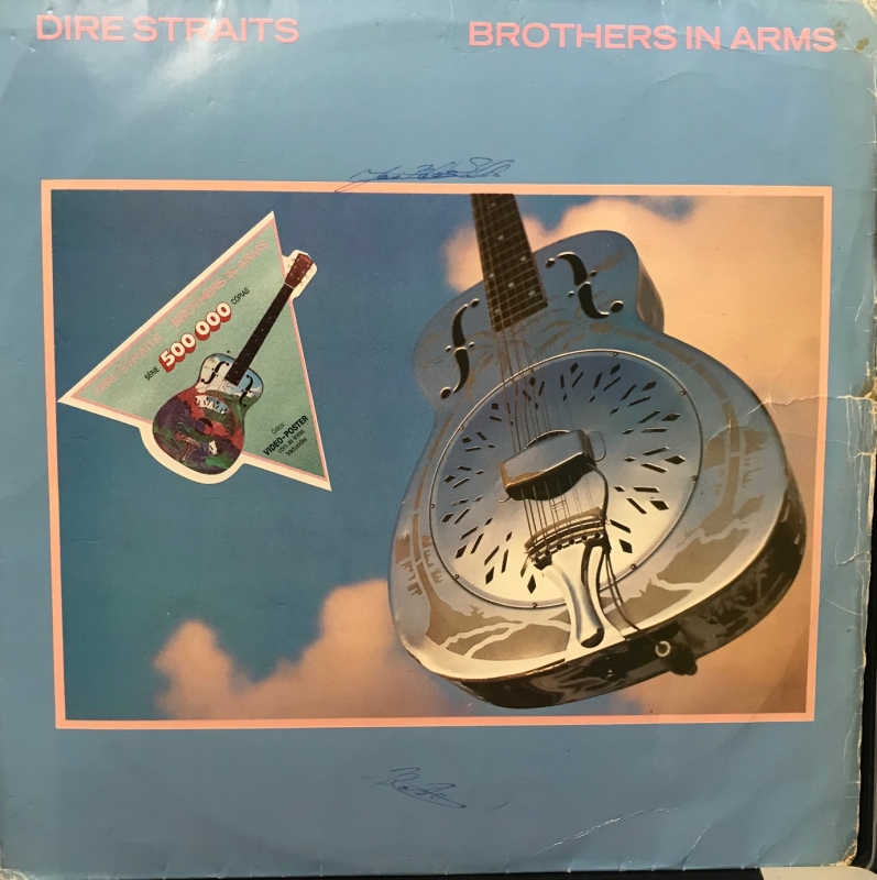 Lp Dire Straits - Brothers In Arms 1985 C encarte VINYL (USADO)