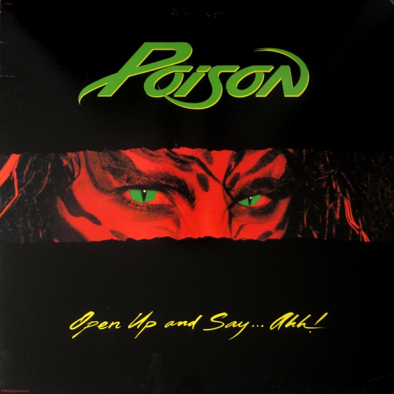LP Poison - Open Up And Say ...Ahh VINYL IMPORTADO LACRADO