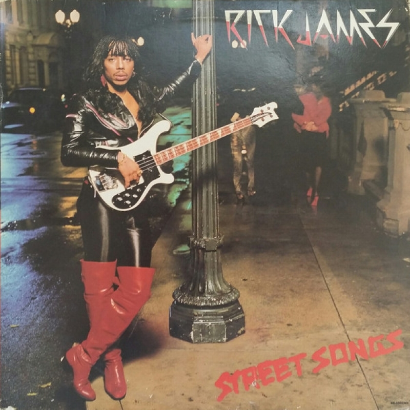 LP Rick James - Street Songs VINYL IMPORTADO LACRADO
