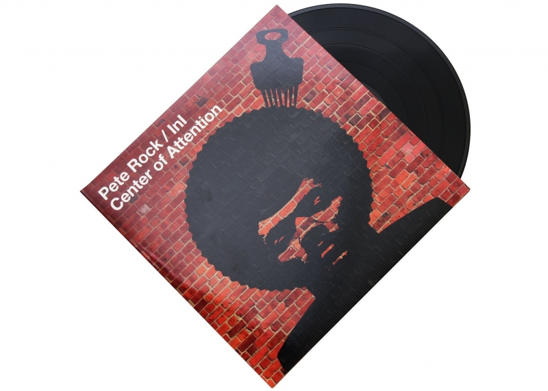LP Pete Rock - Center Of Attention VINYL DUPLO (IMPORTADO)