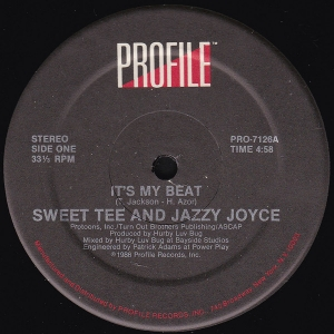 LP Sweet Tee And Jazzy Joyce - Its My Beat VINYL (SEMI NOVO)