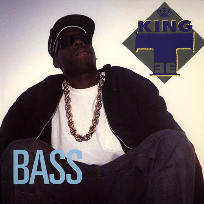 LP King Tee - Bass / Ko Rock Stuff VINYL (SEMI NOVO)