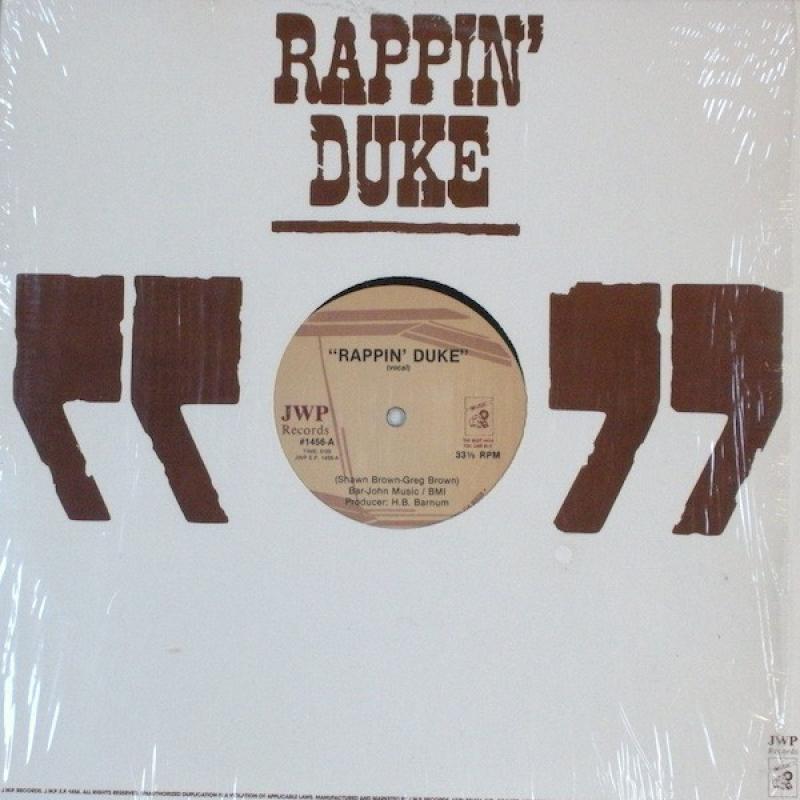 LP Rappin Duke - Rappin Duke VINYL (SEMI NOVO)