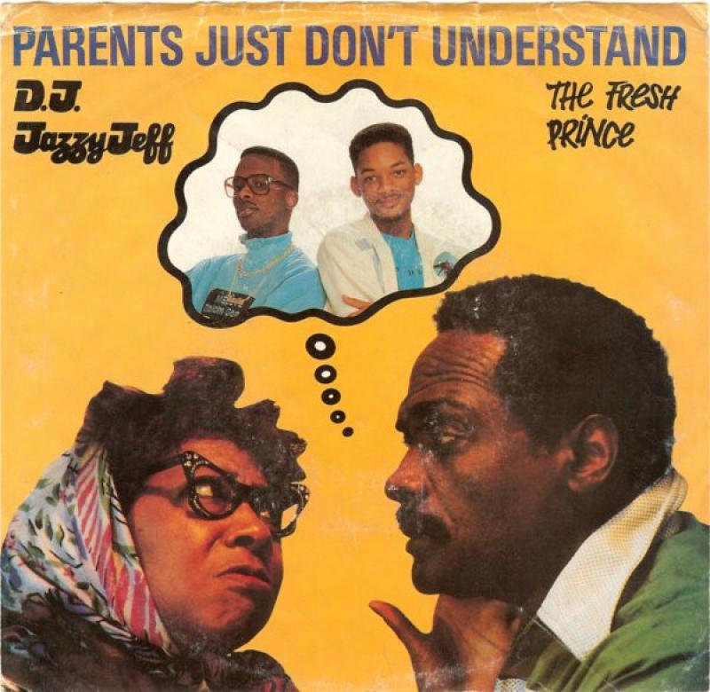 LP D.J. Jazzy Jeff & The Fresh Prince - Parents Just Dont Understand VINYL (SEMI NOVO)