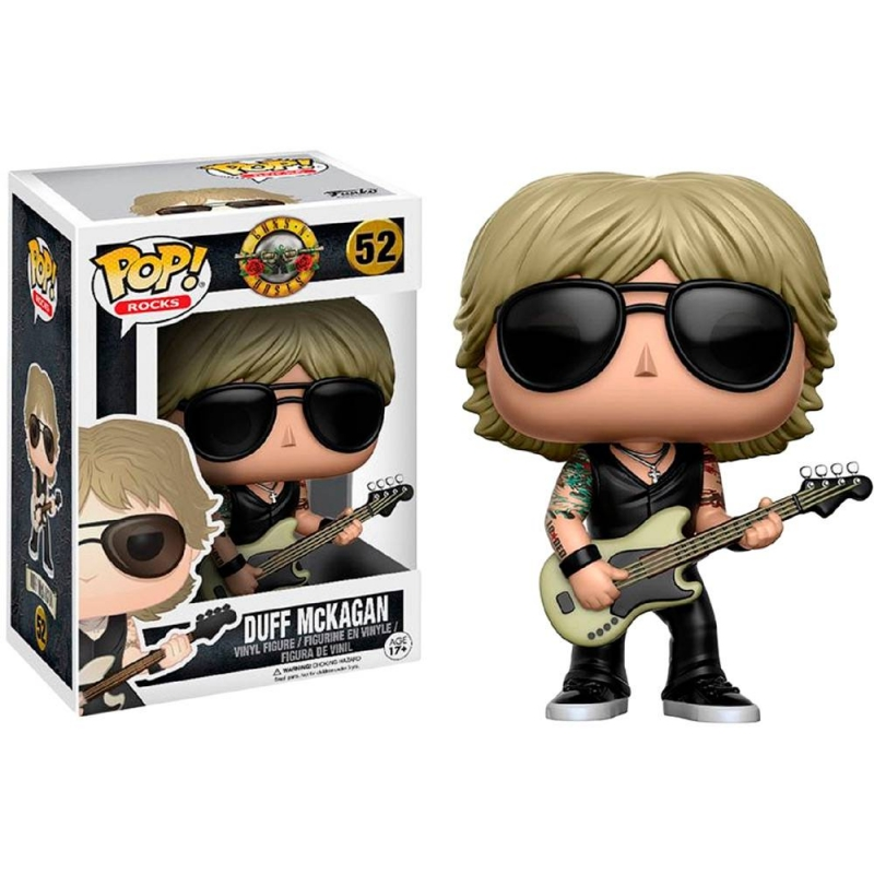 Boneco Guns N Roses - Duff Mckagan (Pop Rocks)