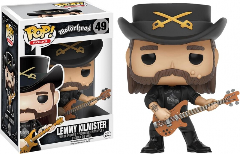 Boneco Lemmy Kilmister - Motorhead (Pop Rocks)