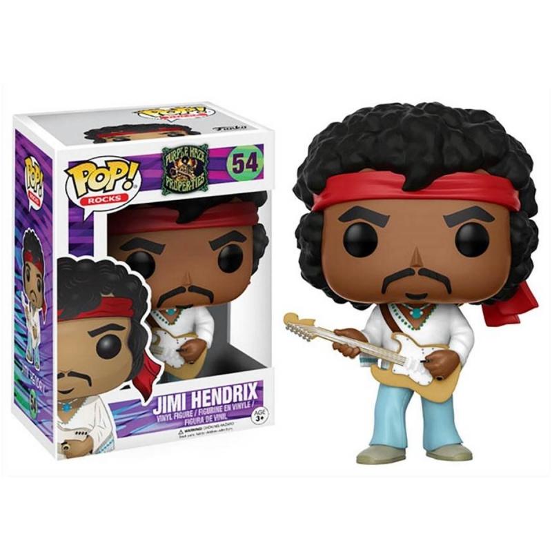 Boneco Jimi Hendrix (Pop Rocks)
