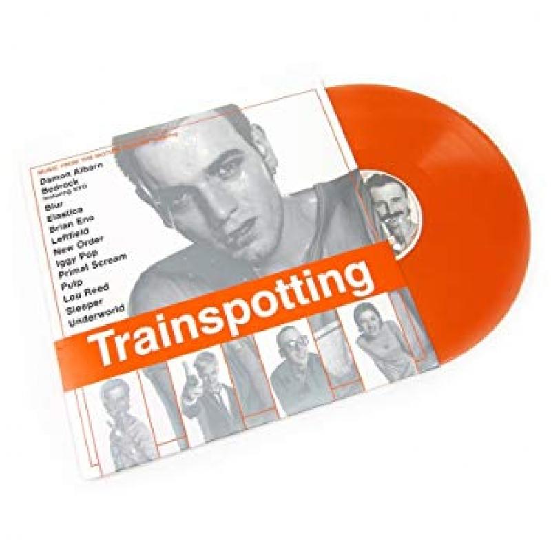 LP Trainspotting - Various Artists (Vinyl Duplo 180 gramas Laranja Importado Lacrado)
