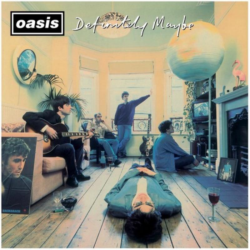 LP Oasis - Definitely Maybe (Vinyl Duplo Importado Lacrado)