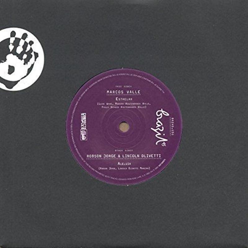 LP Marcos Valle / Lincoln Olivetti & Robson Jorge - Estrelar / Aleluia VINYL (7 polegadas)