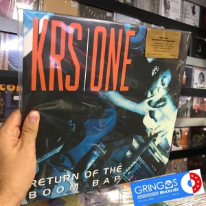 LP KRS One - Return Of The Boom Bap VINYL DUPLO TRANSPARENTE (IMPORTADO)