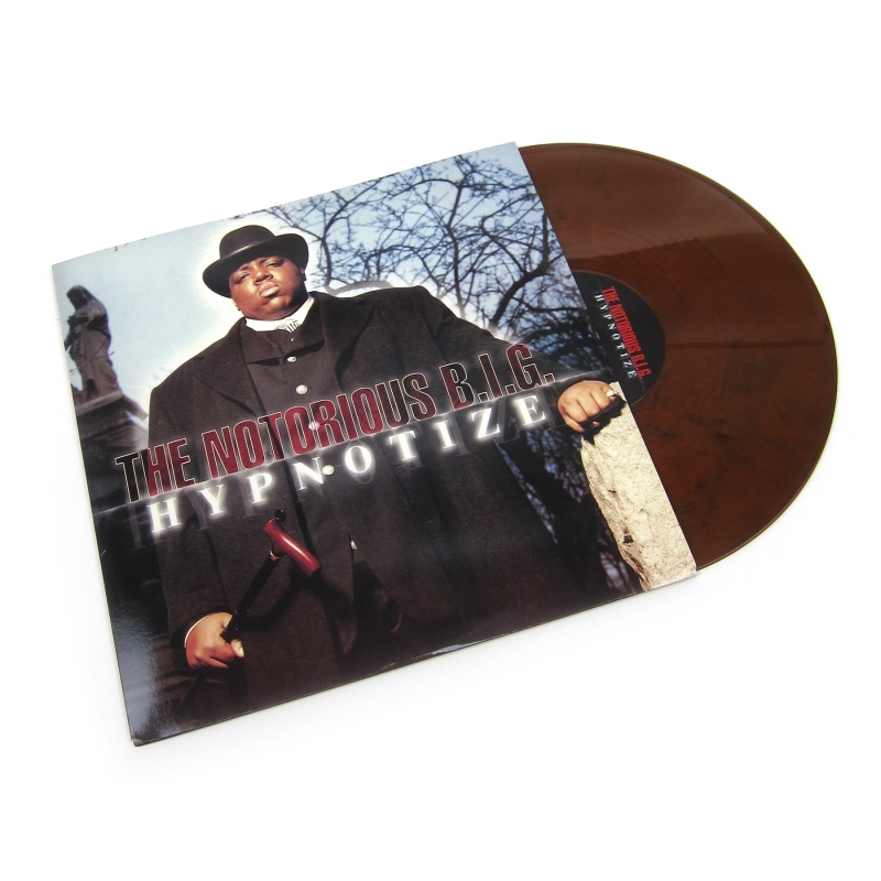 LP THE NOTORIOUS BIG - HYPNOTIZE (BLACK - ORANGE MIX VINYL)