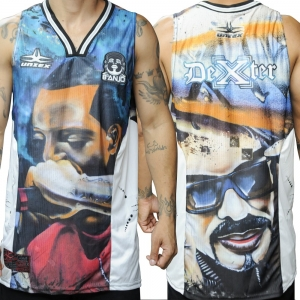 CAMISETA REGATA NBA DEXTER 8 ANJO COLORIDA