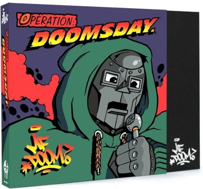 BOX MF DOOM - Operation Doomsday BOX 7 POLEGADAS VINYL