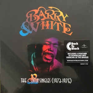 BOX LP BARRY WHITE The 20th Century Records 7 Inch Singles 1973 1975 10LPS IMPORTADO LACRADO
