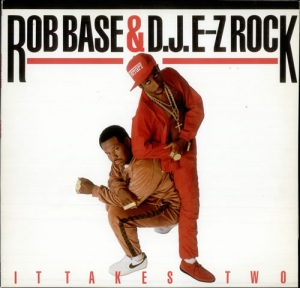 LP Rob Base & DJ E-Z Rock - It Takes Two RED VINYL (IMPORTADO)