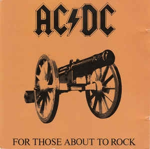 AC DC - For Those About To Rock We Salute You CD
