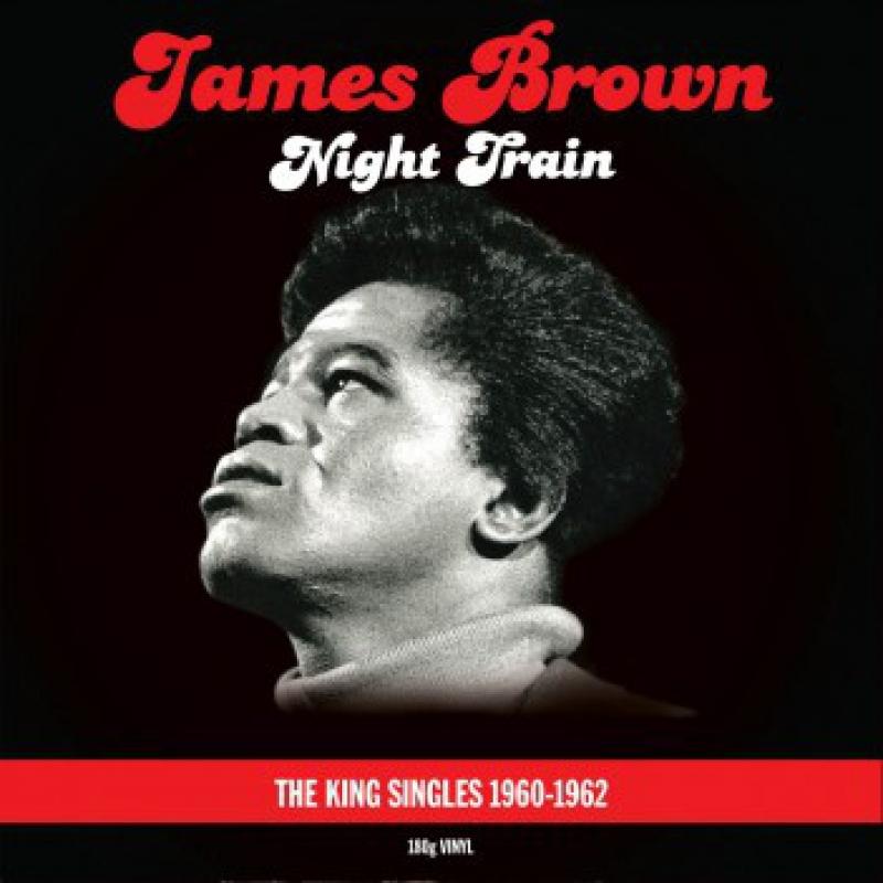LP James Brown - Night Train The King Singles 1960-1962 VINYL DUPLO IMPORTADO LACRADO