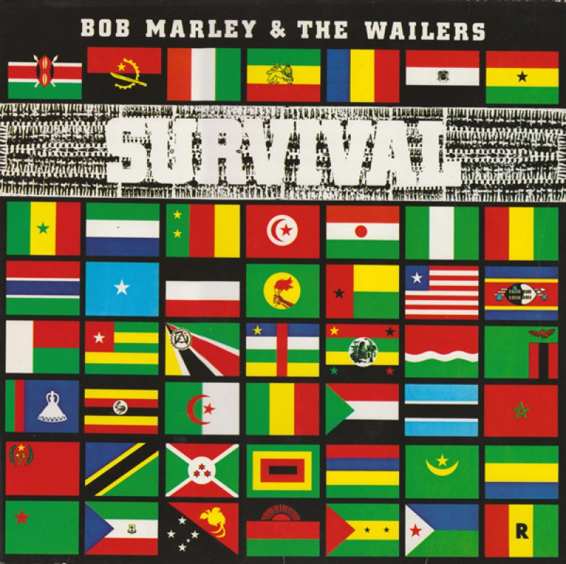 LP Bob Marley The Wailers - Survival VINYL (IMPORTADO)