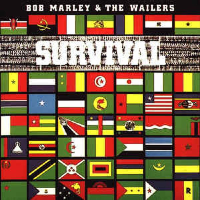 LP Bob Marley - Survival VINYL (IMPORTADO)