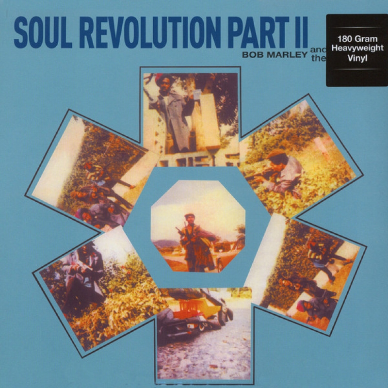 LP Bob Marley & The Wailers - Soul Revolution Part II VINYL 180 GRAMAS (IMPORTADO)