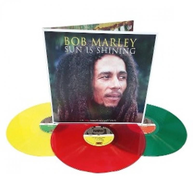 LP Bob Marley - Sun Is Shining VINYL TRIPLO (IMPORTADO)