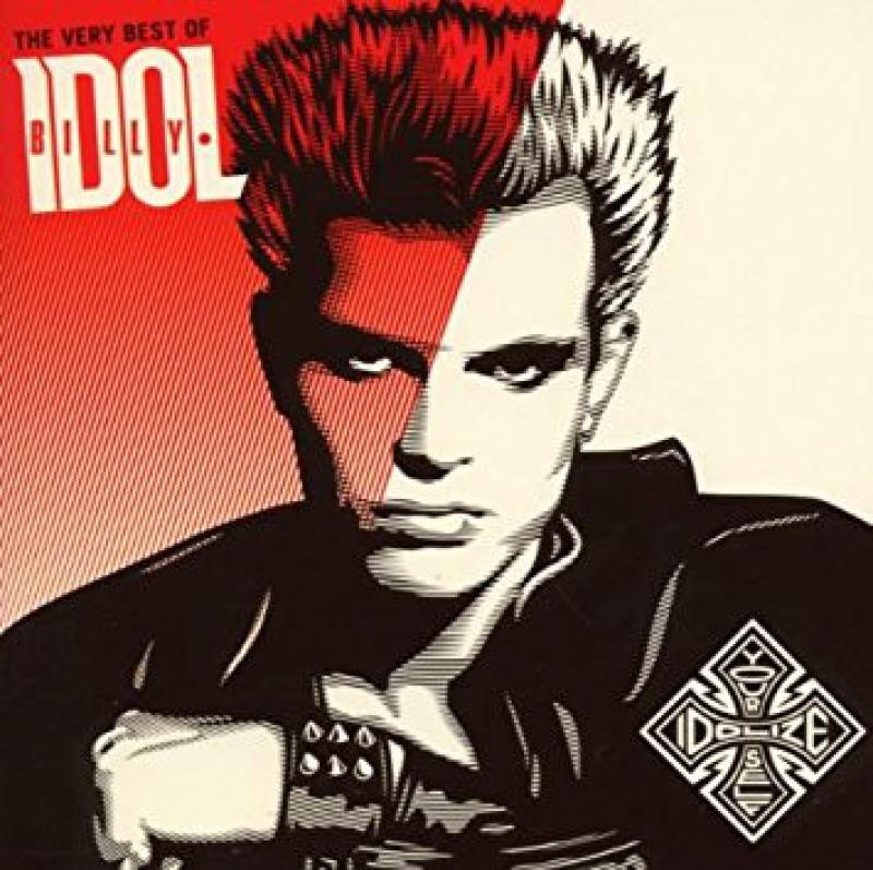 LP Billy Idol - The Very Best Of - Idolize Yourself VINYL (IMPORTADO)