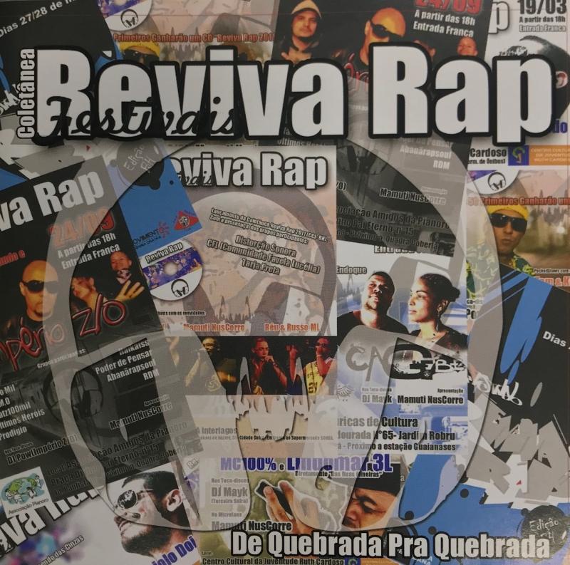Reviva Rap - De Quebrada Pra Quebrada (CD)