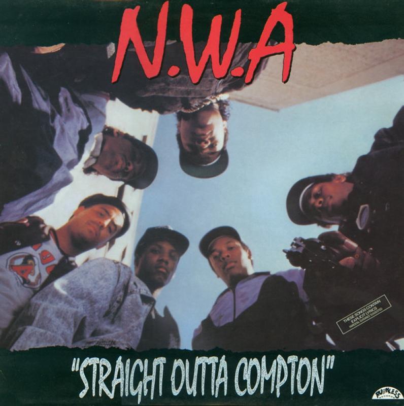 NWA - Straight Outta Compton CD (IMPORTADO)