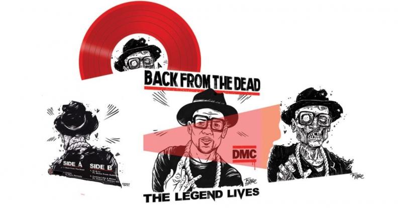 LP DMC - Back From The Dead The Legend Lives VINYL VERMELHO IMPORTADO LACRADO