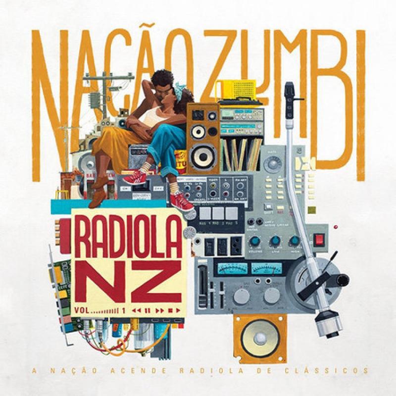 LP LP Nacao Zumbi - Radiola Nz Vol 1 (LACRADO)