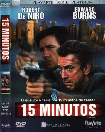 15 Minutos - Com Robert De Niro FILME DVD
