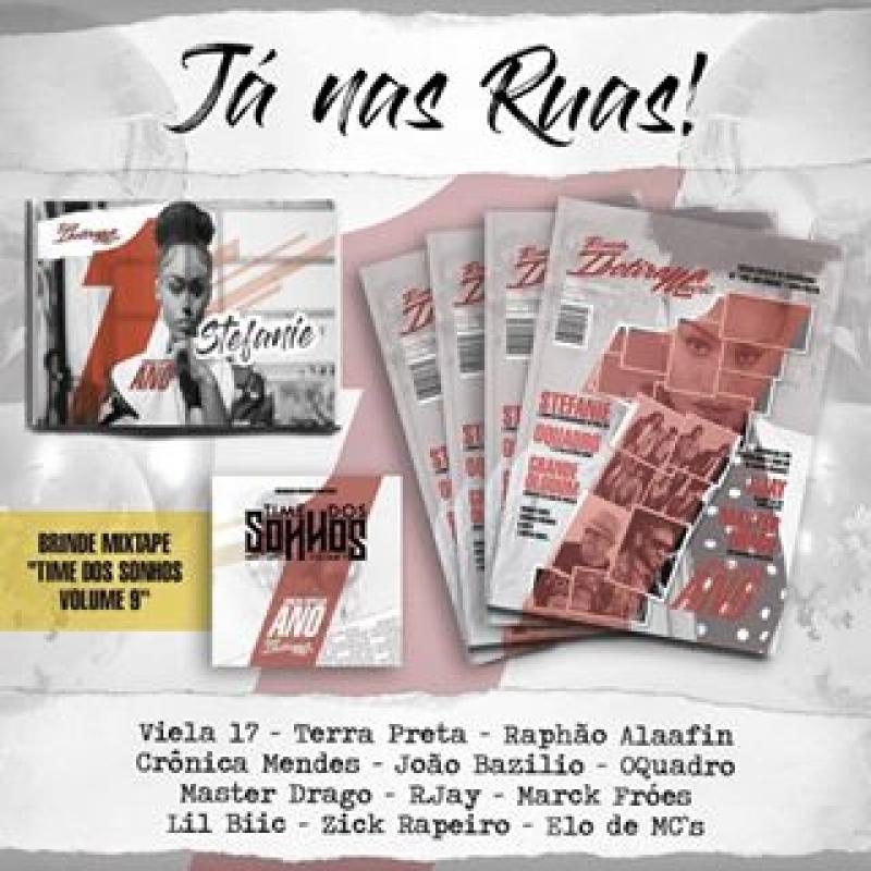 Revista Ibotirama - Music Edicao Especial De Aniversario CD Time Dos Sonhos E Mini Poster