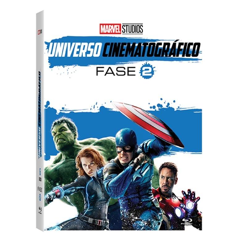 Marvel Universo Cinematografico - Fase 2 - 6 Discos ( Blu-Ray )