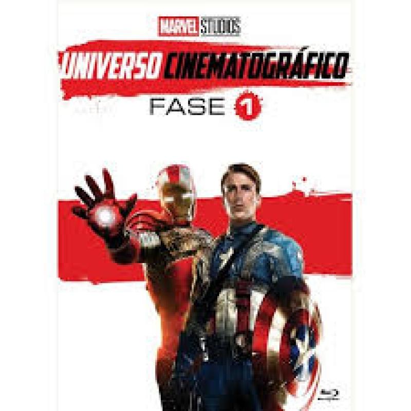 Marvel Universo Cinematografico - Fase 1 - 7 Discos ( DVD )