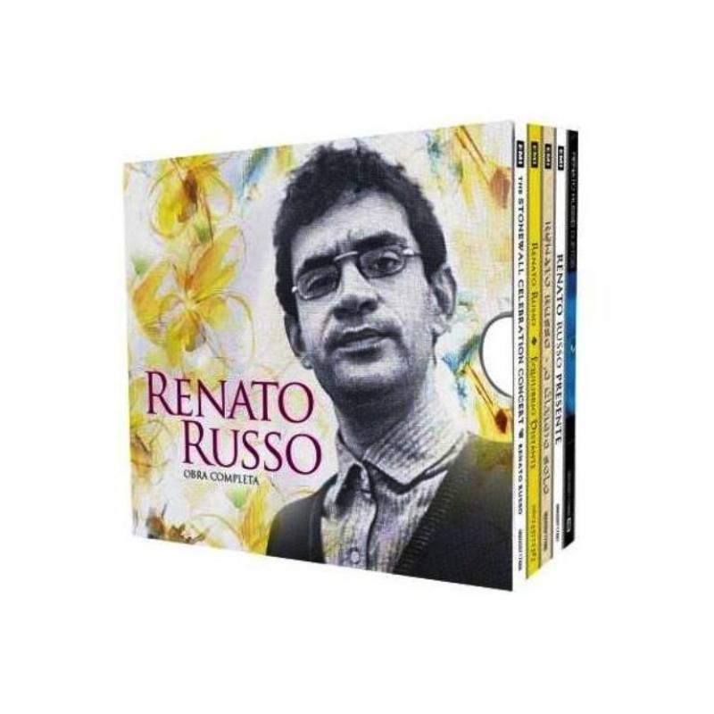 Renato Russo - Obra Completa - Box Com 5 CDs Digipack