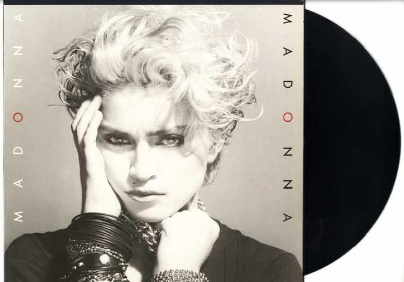 LP Madonna - Madonna Includes HOLIDAY BORDERLINE LUCKY STAR VINYL 180 GRAMAS IMPORTADO LACRADO
