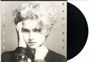LP Madonna - Madonna Includes HOLIDAY BORDERLINE LUCKY STAR VINYL 180 GRAMAS IMPORTADO LACRADO