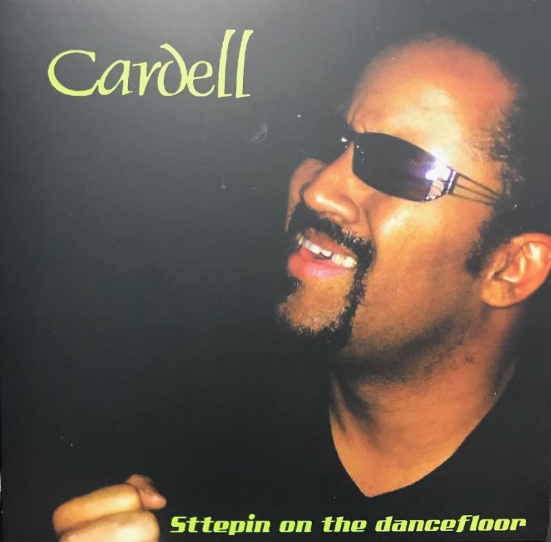 LP CARDELL - STTEPIN ON THE DANCEFLOOR VINYL VERDE 7 POLEGADAS