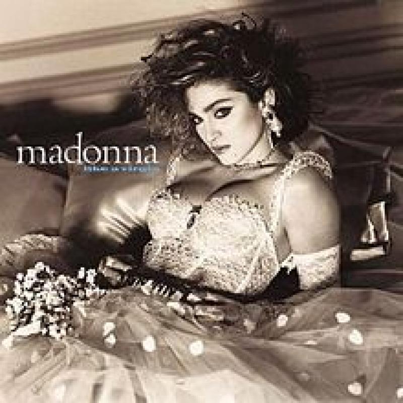 LP Madonna - Like A Virgin VINYL BRANCO IMPORTADO LACRADO