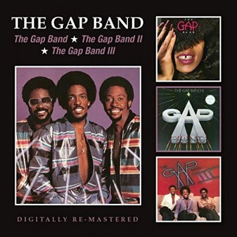 The Gap Band - Gap Band I II & III CD DUPLO IMPORTADO