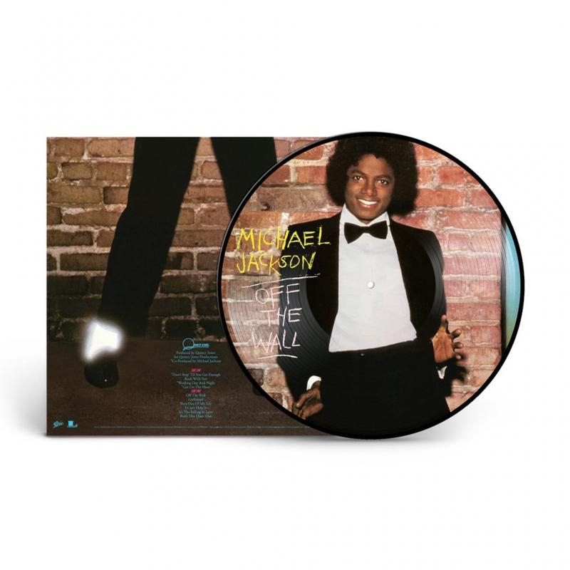 LP Michael Jackson - Off The Wall VINYL PICTURE IMPORTADO LACRADO
