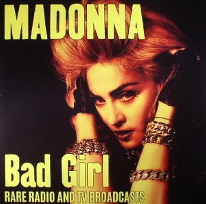 LP Madonna - Bad Girl Rare Radio TV Broadcasts VINYL IMPORTADO LACRADO