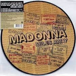 Lp Madonna - Miles Away 12 Single-picture Disc LACRADO