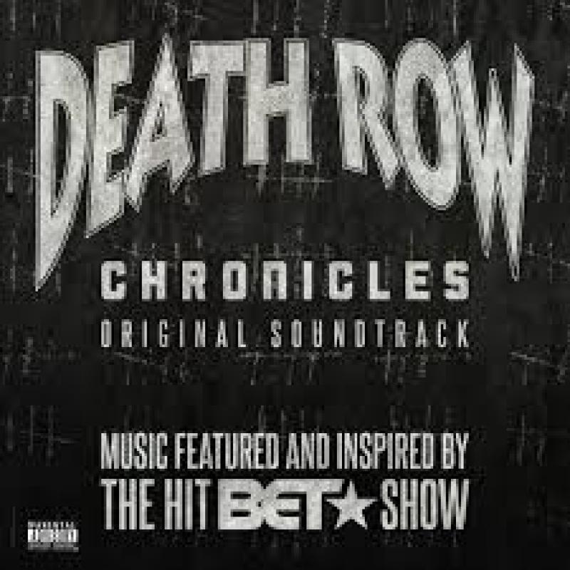 LP Death Row - Chronicles Original Soundtrack VINYL CLEAR DUPLO IMPORTADO LACRADO