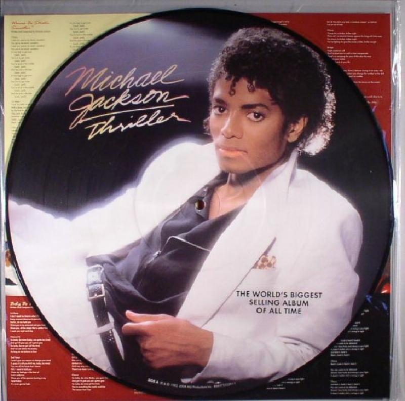 LP Michael Jackson - Thriller Picture VINYL IMPORTADO