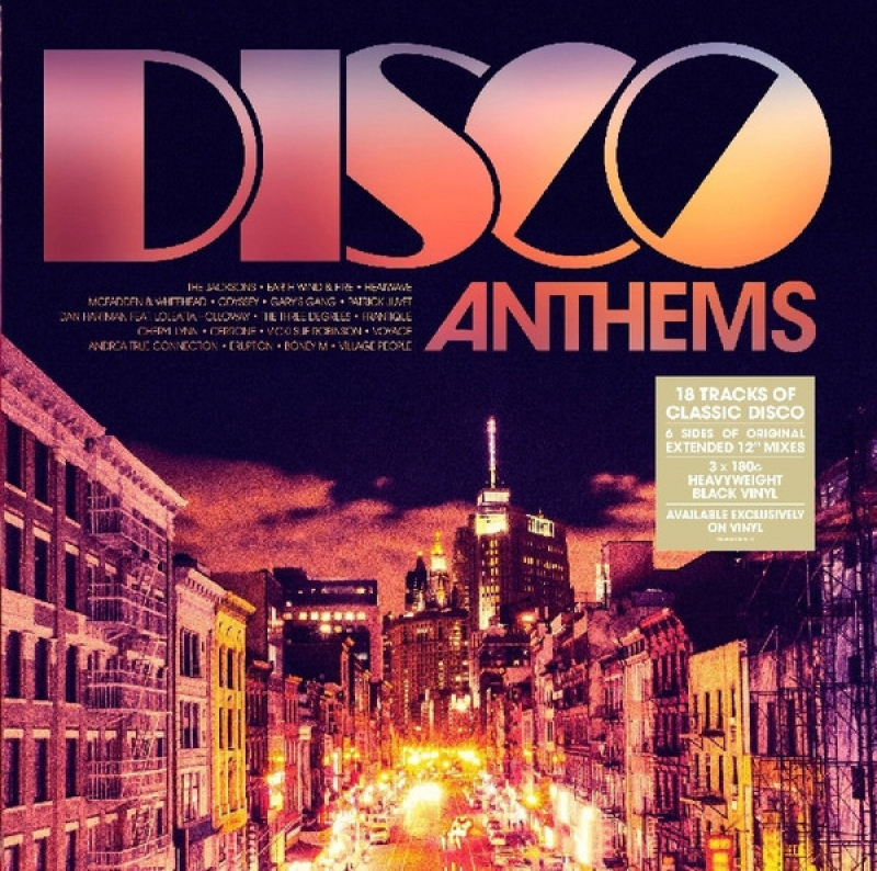LP Disco Anthems - 3 VINYL IMPORTADO LACRADO