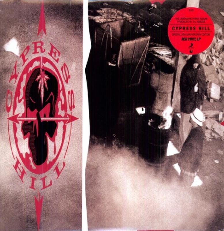 LP CYPRES HILL - Cypress Hill VINYL VERMELHO LACRADO